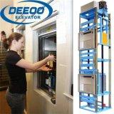 セービングの食事の台所食糧商品100kgの小さいエレベーターのDumbwaiter