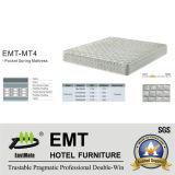 Matelas de lit de chambre à coucher d'hôtel d'étoile (EMT-MT4)