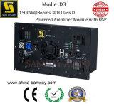 Модуль усилителя типа d D3 1800W+900W+900W@4ohms 3CH активно с DSP для линии системы блока