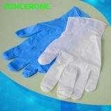 Устранимые перчатки рассмотрения нитрила с хорошим качеством