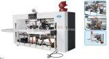 Halb-Selbstgroßartige Maschine für die gewölbte Karton-Kasten-Herstellung