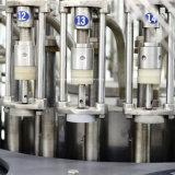 Máquina que capsula de vino del embotellado automático del vidrio