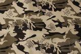 De Stof van de camouflage van de Polyester Met een laag bedekt Oxford van 100% met Wit