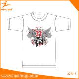 Camisas baratas do homem T da planície do Sublimation 3D de Healong