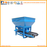 Máquina de procesamiento por lotes por lotes exacta automática del ladrillo de la arcilla para la materia prima del carbón de la arcilla