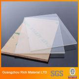 Matt/замороженный поверхностный ясный пластичный акриловый лист