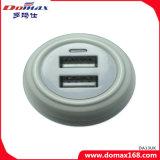 Carregador da parede do curso do plugue do USB do dispositivo 2 dos acessórios do telefone móvel micro