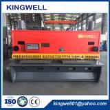 Máquina de corte hidráulica da guilhotina do Ce para a placa de metal (QC11Y-12X3200)