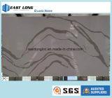 2017 탁상용 싱크대 바 상단 허영 상단 목욕탕 상단을%s 새로운 디자인된 대리석 색깔 석영 석판