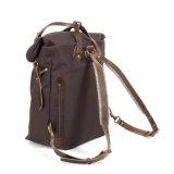 Самый лучший продавая Backpack компьтер-книжки холстины Oz Brown хорошего качества 16 для людей