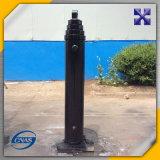 Único cilindro telescópico hidráulico ativo