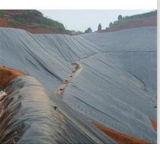HDPE material impermeable Geomembrane para el trazador de líneas de la charca del terraplén