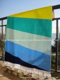 Toalla 100% de playa teñida del terciopelo del telar jacquar del hilo de algodón