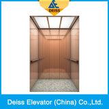 Elevatore residenziale Dkw1250 della casa del passeggero di controllo di Roomless Vvvf della macchina
