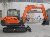 熱い販売の小型クローラー掘削機5.5ton/0.2cbmのバケツ
