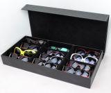 MDF van de luxe de Goede Doos van de Vertoning van Eyewear van de Kwaliteit van het Leer voor de Zonnebril Ceramisch China van Eyewear van het Horloge van Juwelen (X032)