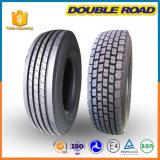Os pneus do disconto do pneumático da polarização da importação do distribuidor do talão dirigem o pneu resistente do caminhão 315 80 22.5