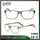 Het populaire In het groot Frame van het Schouwspel van het Oogglas van Eyewear van de Acetaat Optische Cc1721