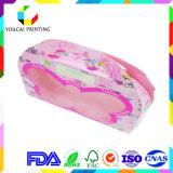 Caisse d'emballage de papier de couleur de Customisz avec le guichet