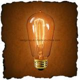 Bombilla St64 del filamento decorativo del bulbo de Edison de la vendimia de la jaula de ardilla del surtidor de China