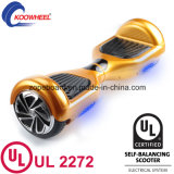 UL2272 운송업자 휴대용 지능적인 소형 2개의 바퀴 자동 균형 전기 스쿠터