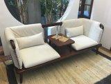 Sofá caliente S6073 determinado de madera sólida de la venta