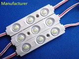 5730 3 microplaquetas Waterproof o módulo do diodo emissor de luz da injeção de sinais ao ar livre