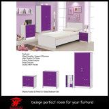 De moderne Dubbele Reeks van de Slaapkamer van het Meubilair van het Ontwerp van de Garderobe van de Kleur