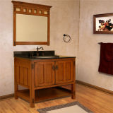 Античный пол конструкции - установленный шкаф ванной комнаты