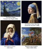 芸術家の油性ペイントのための群青色青の顔料