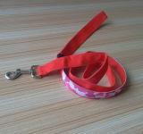 Поводок собаки нового изготовленный на заказ способа перезаряжаемые СИД с милый печатание