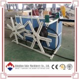 Штранге-прессовани трубы из волнистого листового металла стены PE/PVC двойное делая Машину-Suke