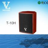 T-10h 10 '' Minilautsprecher-koaxialgeeignetes für Haus und Karaoke