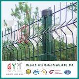 Двойная панель ячеистой сети провода Fence/656 двойная/сваренная загородка ячеистой сети