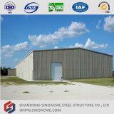 Construction préfabriquée légère de structure métallique pour l'entrepôt