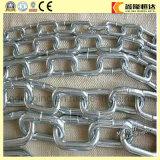 Цепи соединения анкера стержня высокого качества черные/гальванизированные горячие грузят анкерную цепь от Китая