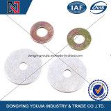 Шайбы горячего DIP равнины цинка металла высокого качества цены крепежных деталей Китая хорошие гальванизированные плоские
