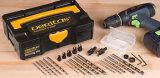 La carpintería filetea el kit Drilling de Veritas