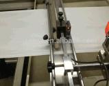 Sac en plastique de tirette avec la pièce d'assemblage faisant la machine