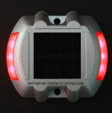 goujon solaire en aluminium ultra lumineux de route de 5mm DEL