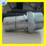 Mâle de 12613 Bsp embouts de durites hydrauliques de portée de cône de 60 degrés