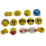 L'émotion identifiant le sable magique badine le jouet avec petit Emoji partie (MQ-DES01)