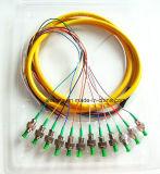 Smのデュプレックス光ファイバファイバーパッチケーブル