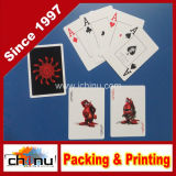 Anunciando o póquer Type e Paper Material Promotional Custom Playing Cards (430027)