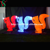 Chrsitmas Motif Lights Acrylic Squirrel