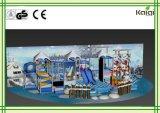 販売または屋内雪の白い運動場の/KidsののためのKaiqiの屋内運動場屋内運動場