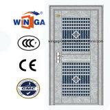 Porte en verre de garantie en acier extérieure de matériau de l'acier inoxydable 304 (W-GH-25)