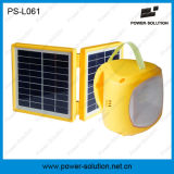 Luz solar lanterna LED para campo ao ar livre