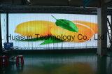 Streifen-Video-Wand der weichen LED-Vorhang-Streifen-transparente LED
