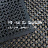 排水のゴム製台所マットまたは体操の床のマットのガレージのゴム製フロアーリング